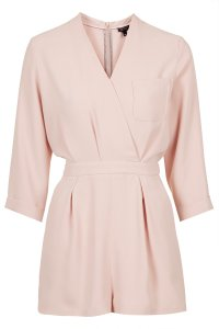 Drape front playsuit £50