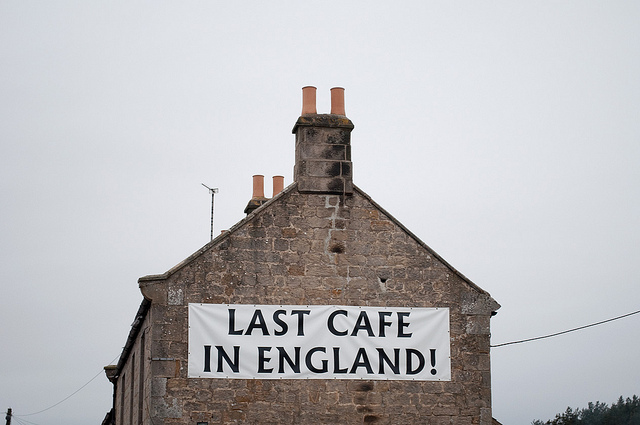 last cafe in england