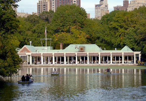 Loeb Boat House, exterior