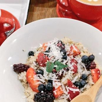 Oatmeal health bowl