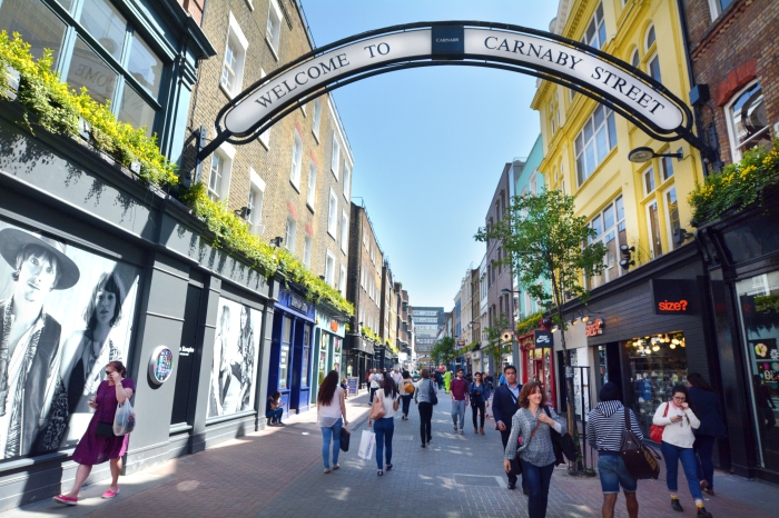 Carnaby Street London UK
